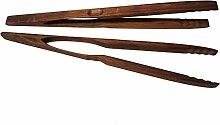 BierEx XXL Profi Grillzange aus Holz 46cm 460mm