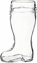 Bierglas Bierseidel Bierstiefel Bamberg 1,0 Liter