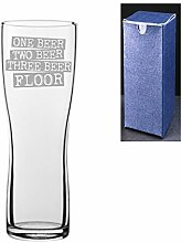 Bierglas mit Gravur/bedruckt, Aspen Pint Cider -