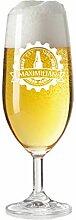 Bierglas mit Name graviert - personalisierte