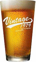 Bierglas zum 40. Geburtstag für Männer und