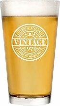 Bierglas zum 50. Geburtstag für Männer und