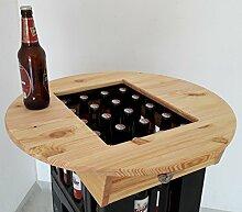 Bierkasten Tischaufsatz Partytisch Stehtisch