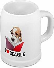Bierkrug Beagle - Bierkrug mit Hundebild Beagle -