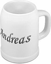Bierkrug mit Name Andreas - Design