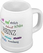 Bierkrug mit Name Heinz - Positive Eigenschaften