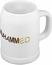 Bierkrug mit Name Muhammed - Design