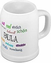 Bierkrug mit Name Paula - Positive Eigenschaften