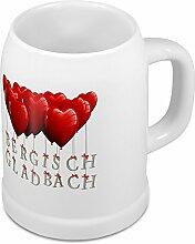 Bierkrug mit Stadtnamen Bergisch Gladbach - Design
