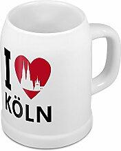 Bierkrug mit Stadtnamen Köln - Design stilvollem