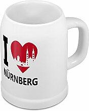 Bierkrug mit Stadtnamen Nürnberg - Design