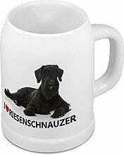 Bierkrug Riesenschnauzer - Bierkrug mit Hundebild