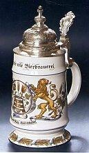 Bierseidel Bier-Krug Zierkrug mit