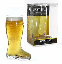 Bierstiefel Bierglas Stiefel Glasstiefel 500ml in