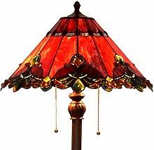 Bieye L10242 17-Zoll-Barocklampe im Tiffany-Stil