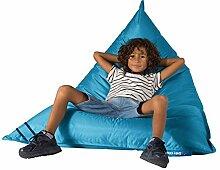 Big Bertha Original, Sitzsack Lounge Sessel XXL, Outdoor, Blau