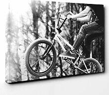 Big Box Art Canvas Print 20 x 14 Inch (50 x 35 cm)