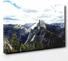 Big Box Art Canvas Print 20 x 14 Inch (50 x 35 cm)