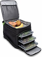 Big Cycle Meal Prep Bag - Insulated Meal Bag with 6 Portion Control Trays - Perfect as Insulated Lunch Bag or Meal Management Bag - Portable, Compact Design, Camping and Picnic Bag - BPA Free by Big Cycle Design