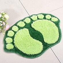 Big Feet Absorbent Mats Fußmatte Badematte Badezimmermatte Küche Schlafzimmer Toilette Matte ( größe : C )