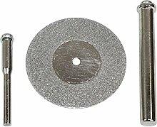 Big Horn WINGENROTH 193931–5/8Zoll 100Körnung Diamant Rad mit 1/10,2cm & 1/20,3cm Schaft Dorn