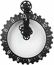 Big Hour Wheel Clock - Große Wanduhr