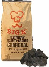 Big K Lumpwood Charcoal Holzkohle–15kg Bag
