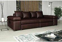 Big Sofa Couchgarnitur PORTER Sofa in div.