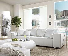 Big-Sofa Marbeya 290x110 cm Weiss mit