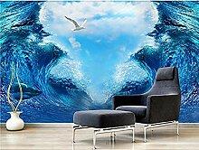 Big Wave Hintergrund für Walls Murals Tapete
