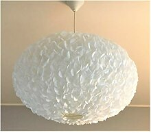 Big White Fluffy II, weiße Lampe Leuchte