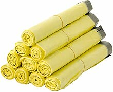 BigDean 10 Rollen Gelber Sack, Gelbe Säcke 90
