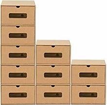 BigDean 10er Boxen-Set mit Schublade &