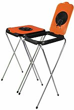 BigDean 2X Müllsackständer SwingFix ORANGE 120L