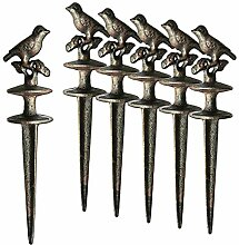 BigDean 6X Gartenschlauch Umlenkrolle Vogel