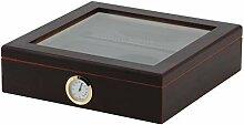 BigSmoke Zigarren Humidor Set - Zigarrenkiste mit