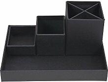 Bigso Box Of Sweden 797445601-Organizer Büro Panneau de Faser Dunkelgrau 23,5x 18x 11cm