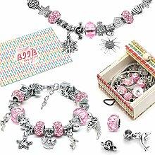 BIIB Geschenke für Mädchen Teens - Charm Armband