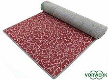 Bijou Royal - Der Vorwerk Teppich Läufer von HEVO® in ROT 080x340 cm Sonderedition
