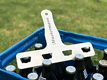 BiKaTi 4er Flaschenöffner aus Edelstahl inklusive