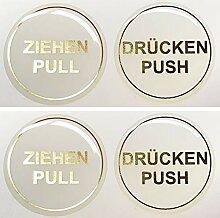 Bike Label 900082VA Aufkleber 3D 2er Set Gold