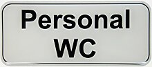 Bike Label Aufkleber 3D 900032 Personal WC