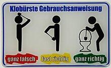 Bike Label Fun-Aufkleber 3D 900049 Klobürste