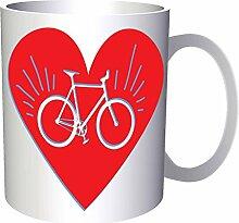 Bike love 33 cl Tasse dd804