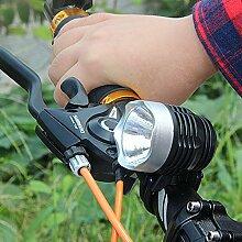 Bike Taschenlampe, happytop 3-Modus 3000Lumen