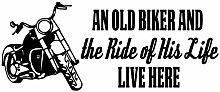 Biker Grandpa-Geschenke-Ein Alter Biker und