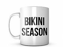 Bikini Season Komisch Keramik Tasse Kaffee Tee