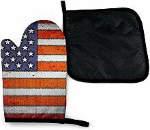 Bikofhd Alte amerikanische Flagge Patriot Coole