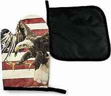 Bikofhd Alte amerikanische Flagge Patriot Vintage