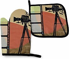Bikofhd Kamera und Bunte Film Mandala Textur in